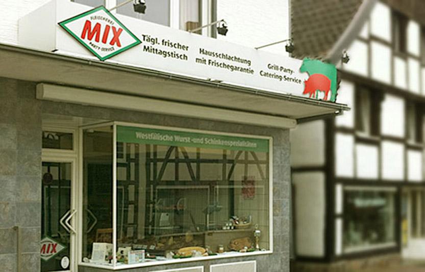 Fleischerei Mix, Partyservice, Grillservice und Catering